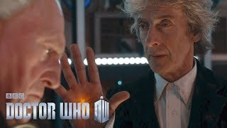 The First Doctor enters the Twelfth Doctor's TARDIS - Doctor Who Christmas Special 2017 - BBC One - BBC