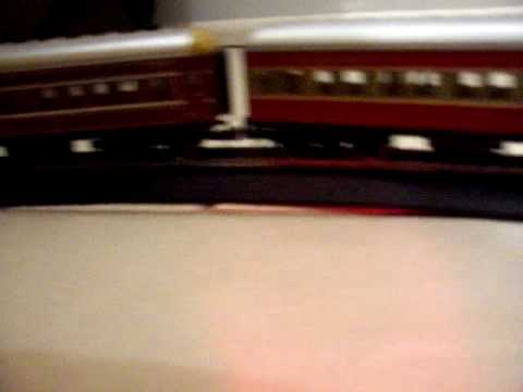 Model Trains My NSW Train Passing The Station & Going Through The Tunnel Pt2