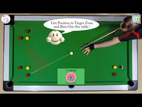 BlackBall Exercise #21 - Run Out 8 Balls Drill 1 - Pool & Billiard Training Lesson