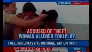 Hyderabad: ACP slaps woman booked for alleging foul play; action initiated against ACP Ranga Rao - NEWSXLIVE