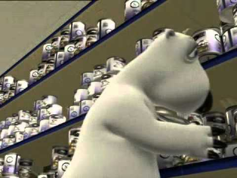 Bernard Bear - Supermarket.avi