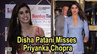 Disha Patani misses working with Priyanka Chopra - IANSINDIA