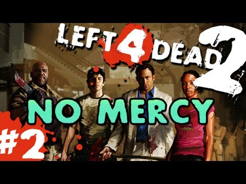 L4D2 zombies No Mercy Pt.2 with GUNNS and Bentley