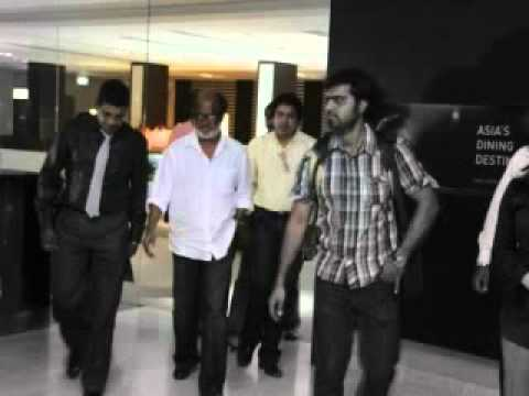 Superstar Rajinikanth in Singapore Hospital