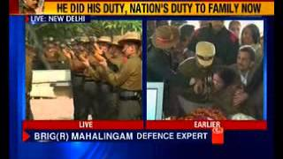 Army chief officers pays tribute to Colonel MN Rai - NEWSXLIVE