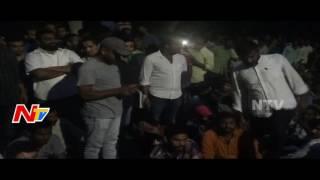 Osmania University Hostel Students Protest at VC Chamber || NTV - NTVTELUGUHD