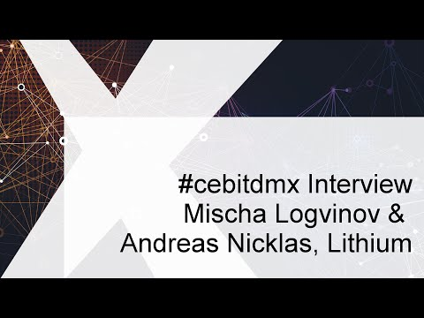 #cebitdmx Interview mit M. Logvinov & A. Nicklas, Lithium