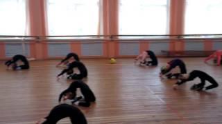 Детские танцы. Tequila Dance Studio.  Преподаватель Ирина Савельева.