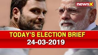 Lok Sabha Elections 2019: PM Narendra Modi To Contest From South Bengaluru — 2019 Polls News Wrap - NEWSXLIVE