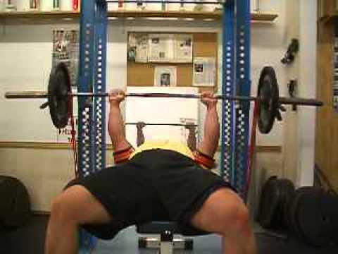 DYNAMIC EFFORT BENCH PRESS
