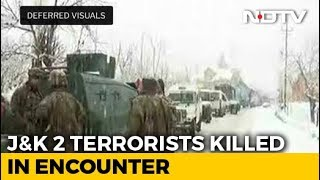 2 Terrorists Killed In Encounter In Jammu And Kashmir; Operation Underway - NDTV