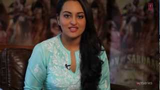 Video: Interview With Sonakshi Sinha - Son Of Sardaar