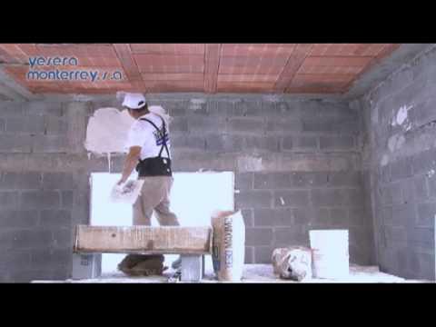 YESERA MONTERREY Como Aplicar Yeso Construcción