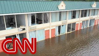 Video shows severe flooding in North Carolina (No audio) - CNN