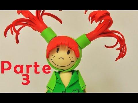 Fofuchas - muñeca de goma eva (Foamy doll) parte 3