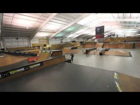 Mark Webb and friends at Woodward Camp