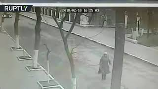 Church shooting CCTV: Recording of deadly attack in Dagestan shows gunman open fire (DISTURBING) - RUSSIATODAY