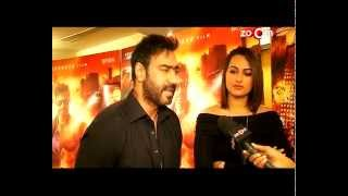 Ajay Devgan defends Soankshi Sinha - Exclusive