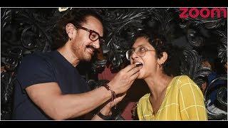 Aamir Khan Celebrates His Birthday With Paparazzi | Bollywood News - ZOOMDEKHO