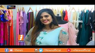 Heroine Priyanka Jawalkar Launches Deepthi Ganesh Designer Showrooms | Metro Colours | iNews - INEWS