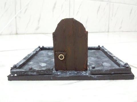 DM Dih Miniaturas de RPG #12 - Portas de Madeira