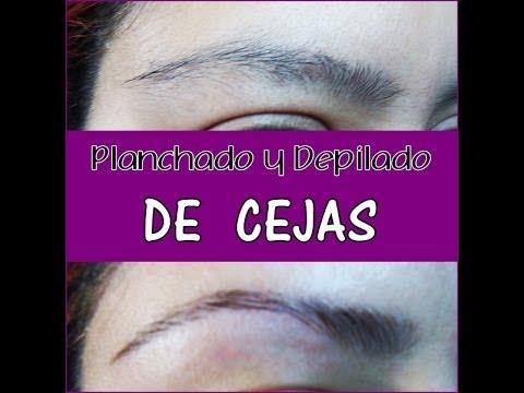 Planchado y depilado de ceja -Como Lo Hago- J.DENIS