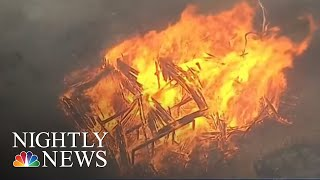 State Of Emergency In Oregon As Wildfires Rage Across The West | NBC Nightly News - NBCNEWS