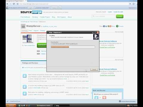 Videotutorial Wamp: WordPress WAMP
