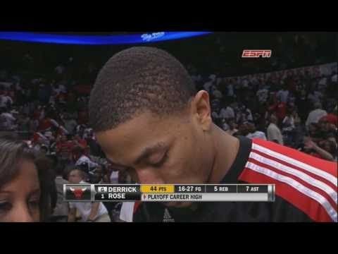 Derrick Rose Highlights vs Hawks (44 Points, Playoff Career-High) [HD]