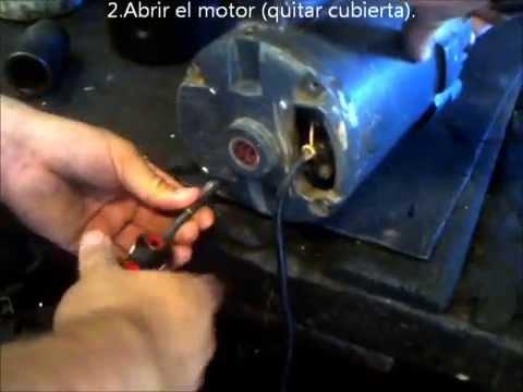 Inversión de giro de un motor Monofasico - SEM