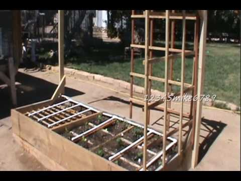 DIY  Build $6 Garden Trellises out of Red Wood Fence Board's