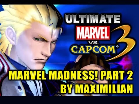 MARVEL MADNESS! Part 2 - Ultimate Marvel vs Capcom 3 Gameplay by Maximilian