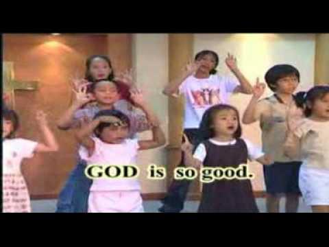God is so Good เพลงสรรเสริญพระเจ้า เพลงเด็ก