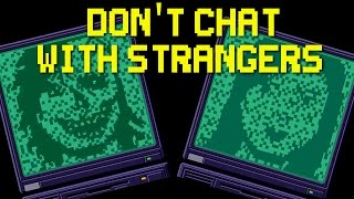 Don't Chat With Strangers - Chatting & Dying ( ENDING / FULL PLAYTHROUGH ) Manly Let's Play