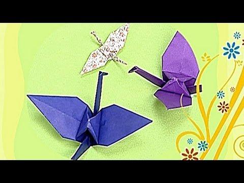 Çocuklar İçin Origami Crane (Öğretici) – Kağıttan Arkadaşlar 01