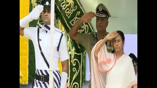 Jashn-e-Azaadi : Mamata Banerjee Unfurls National Flag | ABP News - ABPNEWSTV