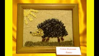 Выставка поделок из природных материалов