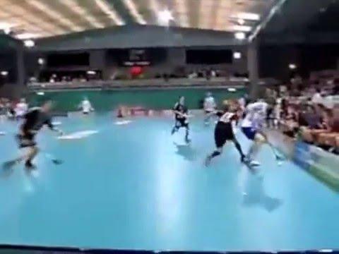 Floorball training, moves and skills