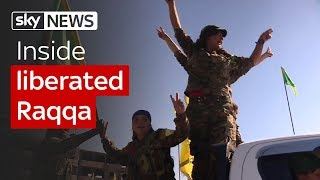 Inside liberated Raqqa - SKYNEWS