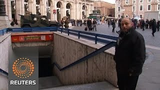 Rome metro closes after earthquake in central Italy - REUTERSVIDEO