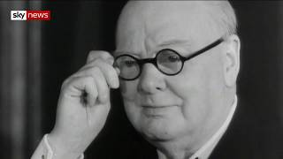 Is Sir Winston Churchill a hero or villain? - SKYNEWS