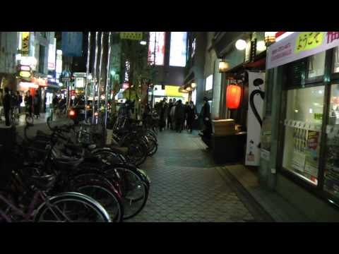 Japan Nightlife - A Walk Through the Nakasu Red Light District Part 1 - Japan As It Truly Is