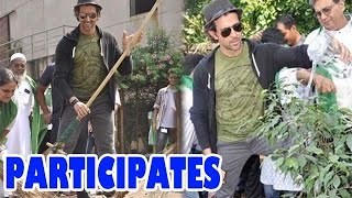 Hrithik Roshan participates in 'Clean India' campaign | Bollywood News - ZOOMDEKHO