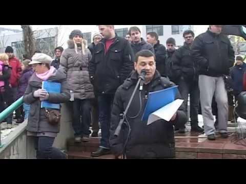 06 - Zoran Božanić | Veliki protest - Naselje Stepa Stepanović 07.02.2015.