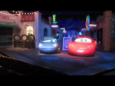 Radiator Springs Racers (Luigi side) front seat on-ride HD POV Disney's California Adventure