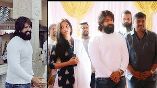 KGF Chapter 2 Movie Launch Muhurath | Rocking Star Yash | Srinidhi Shetty - RAJSHRITELUGU
