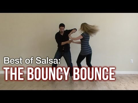 Salsa Dance Moves : Bouncy Bounce