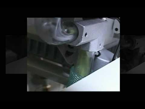 ZOJE - Máquina de Costura Galoneira Cilíndrica c/ Refilador