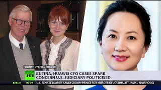 'Not about justice but making a political point': Butina, Huawei exec cases spark concern - RUSSIATODAY