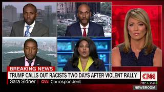 CNN Charlottesville panel erupts: I won't be attacked on my blackness! - CNN
